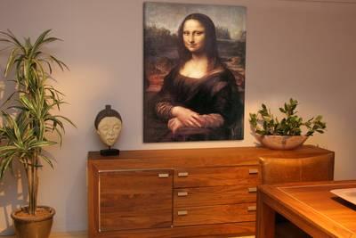 canvas 2cm gevernist 90x160 cm